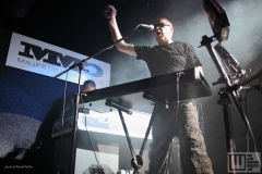 The Dark / Front 242 live at Majestic Music Club  2019 / photo by: Marek Bučko