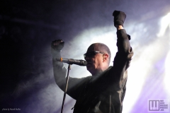 Front 242 live at Majestic Music Club  2019 / photo by: Marek Bučko