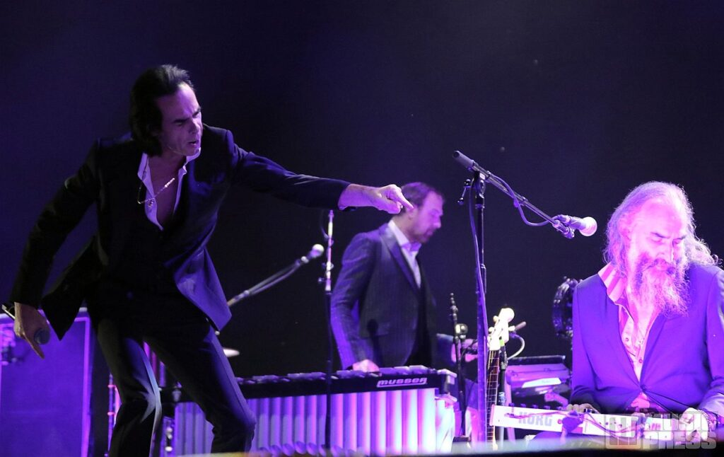Nick Cave & the Bad Seeds live at InMusic festival 2018 / photo by: David Majersky