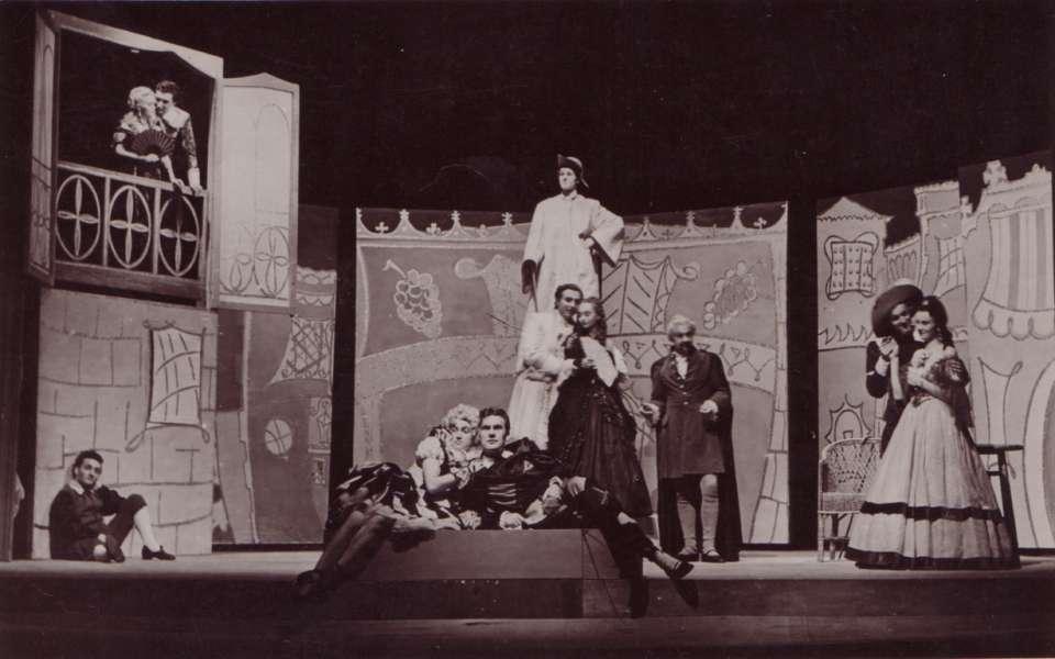 č benátska maškaráda obdobie 1946-1953