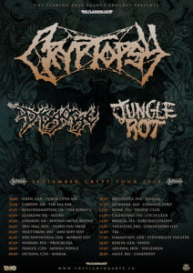 Cryptopsy-Disgorge-Jungle-Rot-tour-2014