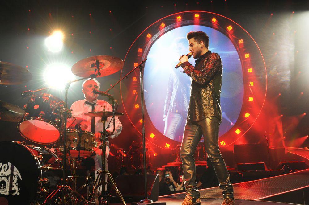 USA-music-Queen + Adam Lambert perform in Chicago