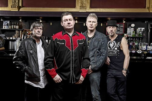 Stiff Little Fingers press shot 2012 November 12, 2012 © Ashley Maile
