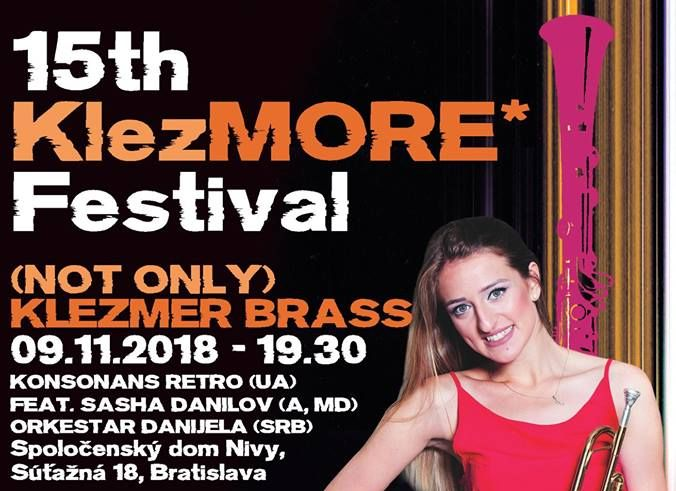 15th KlezMORE Festival