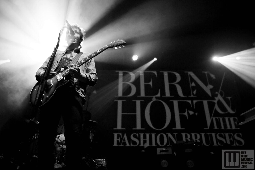 Bernhoft & The Fashion Bruises live at Majestic Music Club / photo by: Simona Babjaková
