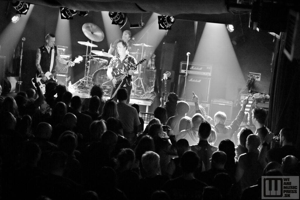 The Vibrators live at Randal Club 2019 / photo by: Simona Babjaková