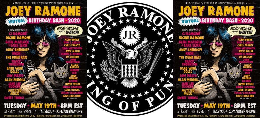 Joey Ramone Brithday bash2020_kolaz
